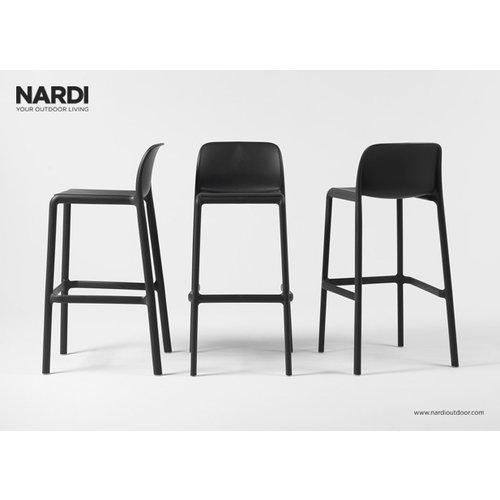 Nardi Barkruk Buiten - 76 cm - FARO - Antraciet - Nardi