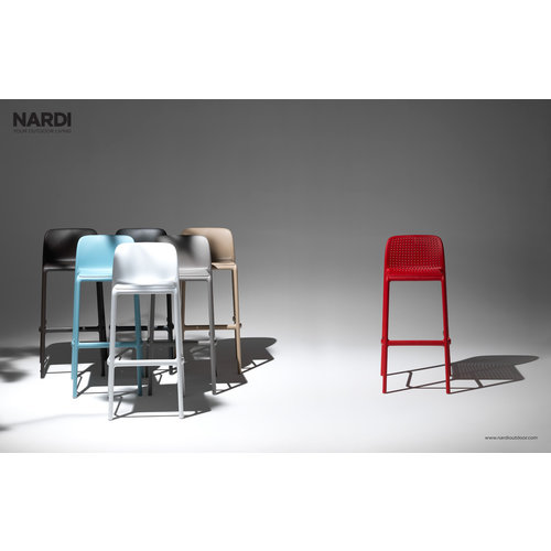 Nardi Barkruk Buiten - 65 cm - FARO MINI - Rosso - Rood - Nardi