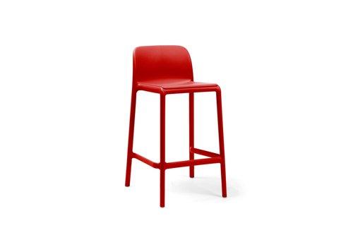 Barkruk Buiten - 65 cm - FARO MINI - Rosso - Rood - Nardi