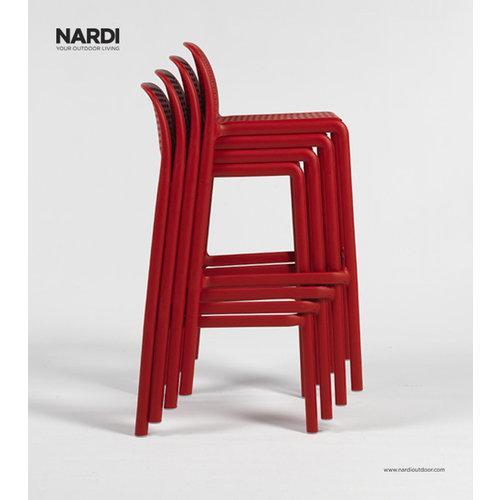Nardi Barkruk Buiten - 76 cm - LIDO - Koffie Bruin - Nardi