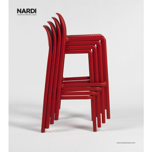 Nardi Barkruk Buiten - 76 cm - LIDO - Tortora - Taupe - Nardi