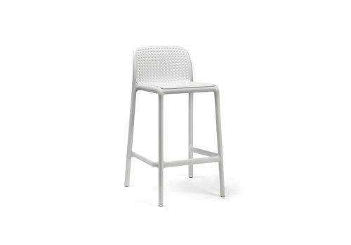 Barkruk Buiten - 65 cm - LIDO MINI - Bianco - Wit - Nardi