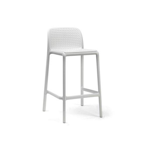 Nardi Barkruk Buiten - 65 cm - LIDO MINI - Bianco - Wit - Nardi