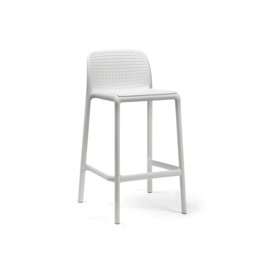 Barkruk Buiten - 65 cm - LIDO MINI - Bianco - Wit - Nardi-1