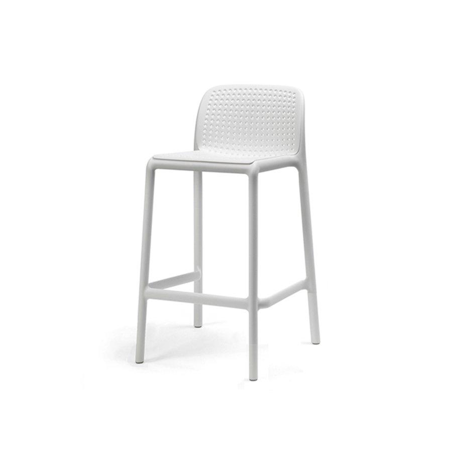 Barkruk Buiten - 65 cm - LIDO MINI - Bianco - Wit - Nardi-2