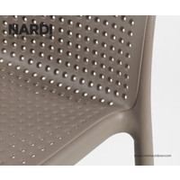 thumb-Barkruk Buiten - 65 cm - LIDO MINI - Koffie Bruin - Nardi-4