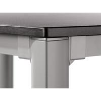 thumb-Tuintafel Vivodur - Antraciet/Leisteen - 165x95 cm - Sieger-4