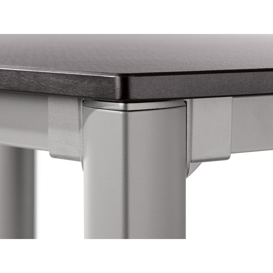 Tuintafel Vivodur - Antraciet/Leisteen - 165x95 cm - Sieger-4