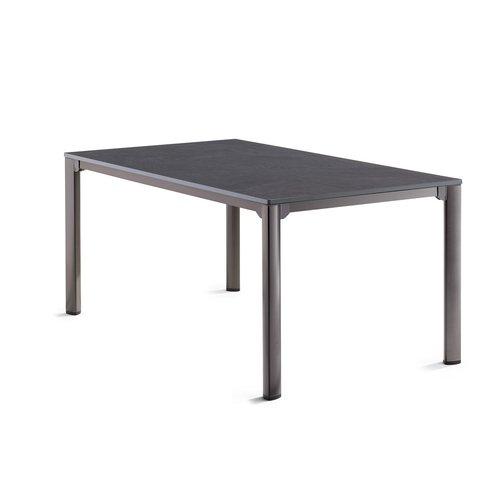 Tuintafel Vivodur - Antraciet/Leisteen - 165x95 cm - Sieger