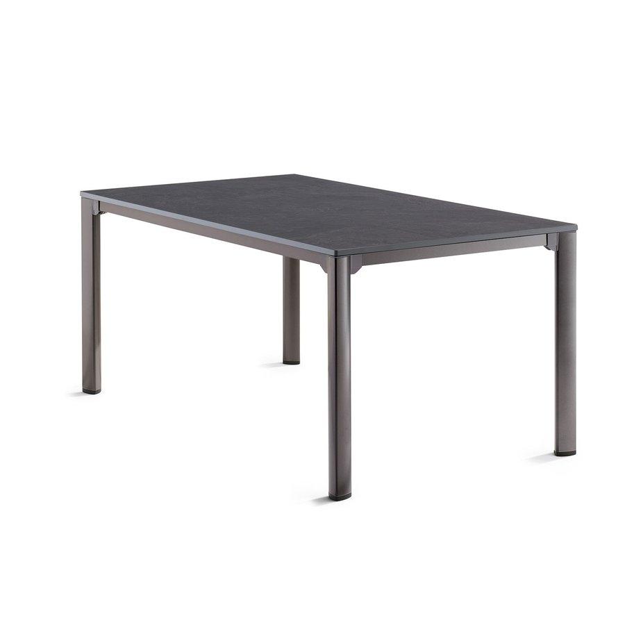 Tuintafel Vivodur - Antraciet/Leisteen - 165x95 cm - Sieger-1