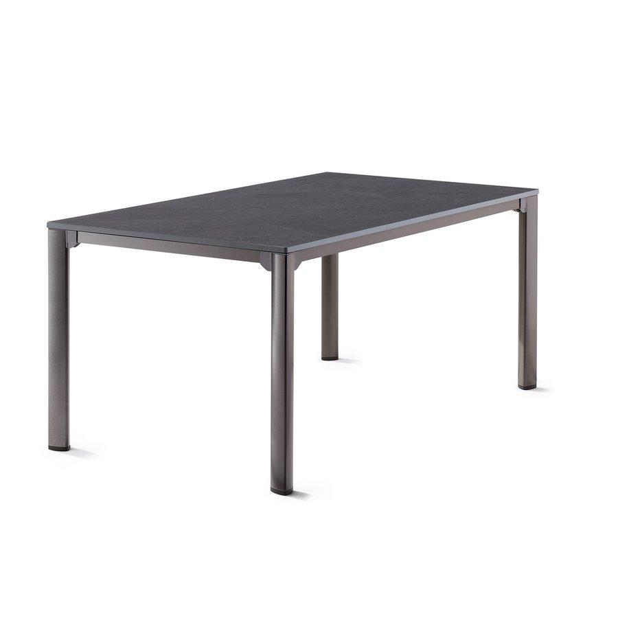 Tuintafel Vivodur - Antraciet/Leisteen - 165x95 cm - Sieger-2