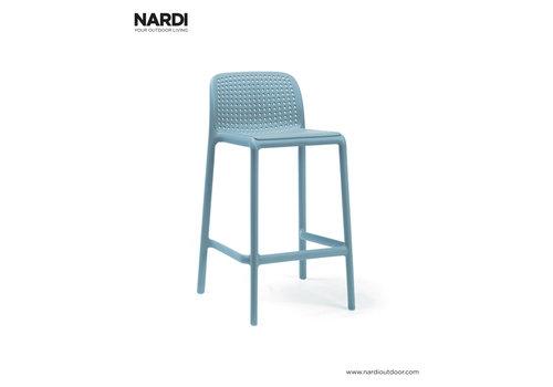 Barkruk Buiten - 65 cm - LIDO MINI - Celeste - Blauw - Nardi