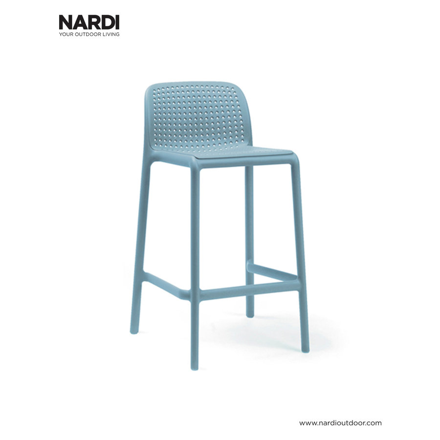 Barkruk Buiten - 65 cm - LIDO MINI - Celeste - Blauw - Nardi-1