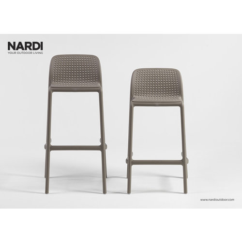 Nardi Barkruk Buiten - 65 cm - LIDO MINI - Tortora - Taupe - Nardi
