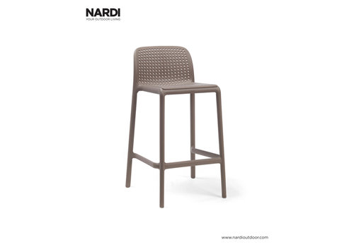 Barkruk Buiten - 65 cm - LIDO MINI - Tortora - Taupe - Nardi