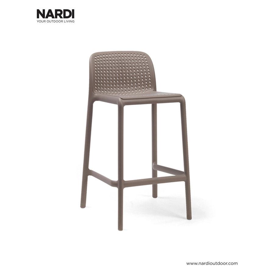 Barkruk Buiten - 65 cm - LIDO MINI - Tortora - Taupe - Nardi-1