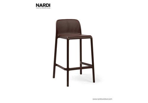 Barkruk Buiten - 65 cm - LIDO MINI - Koffie Bruin - Nardi