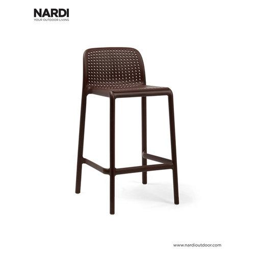 Nardi Barkruk Buiten - 65 cm - LIDO MINI - Koffie Bruin - Nardi