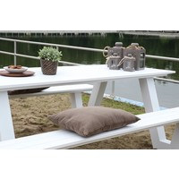 thumb-Picknicktafel - Breeze - Aluminium - Wit - Lesli Living-7