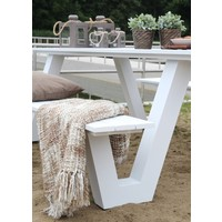 thumb-Picknicktafel - Breeze - Aluminium - Wit - Lesli Living-5