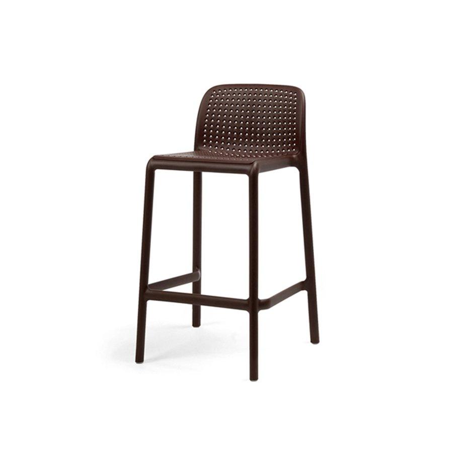Barkruk Buiten - 65 cm - LIDO MINI - Koffie Bruin - Nardi-2