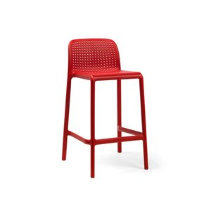 Nardi Barkruk Buiten - 65 cm - LIDO MINI - Rosso - Rood - Nardi