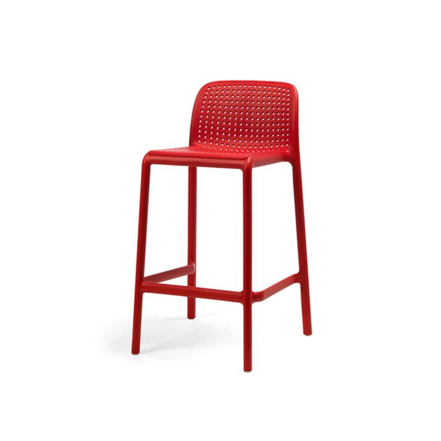 Barkruk Buiten - 65 cm - LIDO MINI - Rosso - Rood - Nardi-2