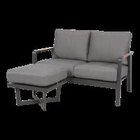 thumb-Lounge Voetenbank - Bali - Aluminium - Antraciet - Garden Interiors-6