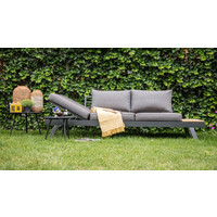 thumb-Arezzo - 2-in-1 - Loungebank - Ligbed - Antraciet - Lesli Living-3