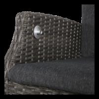 thumb-Dining Tuinstoel - SoHo Comfort Coal - Wicker - Lesli Living-9