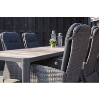 thumb-Dining Tuinstoel - SoHo Comfort Coal - Wicker - Lesli Living-3