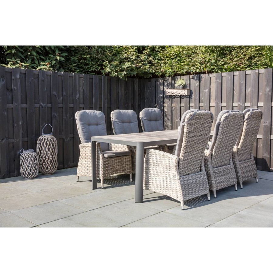 Dining Tuinstoel - SoHo Comfort Mountain - Wicker - Lesli Living-3