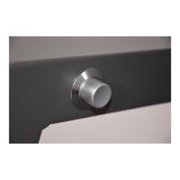 thumb-Dining Tuinstoel - Prato Mountain - Aluminium/Wicker - Lesli Living-8