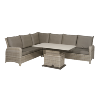 thumb-Dining Loungeset - SoHo Beach - Wicker - Lesli Living-1