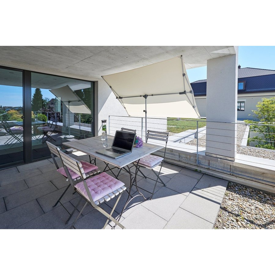 Parasol Flex Roof - 210x150 cm - Ecru - SunComfort by Glatz-7