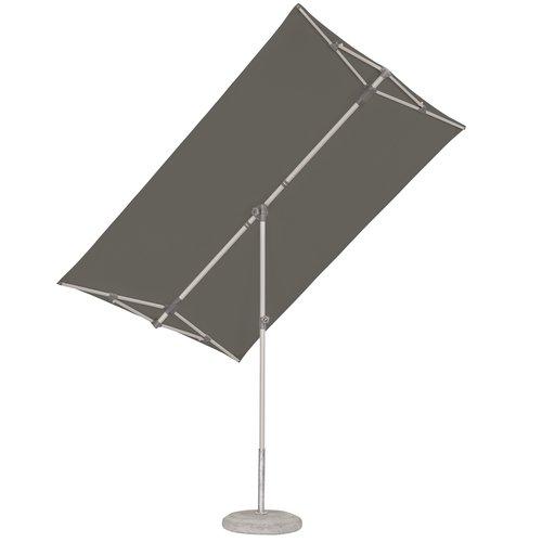 SunComfort by Glatz Parasol Flex Roof - 210x150 cm - Grijs - SunComfort by Glatz