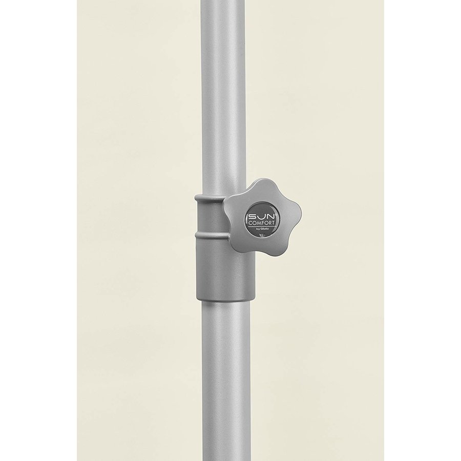 Parasol Flex Roof - 210x150 cm - Grijs - SunComfort by Glatz-4
