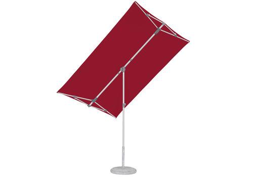 Parasol Flex Roof - 210x150 cm - Rood - SunComfort by Glatz
