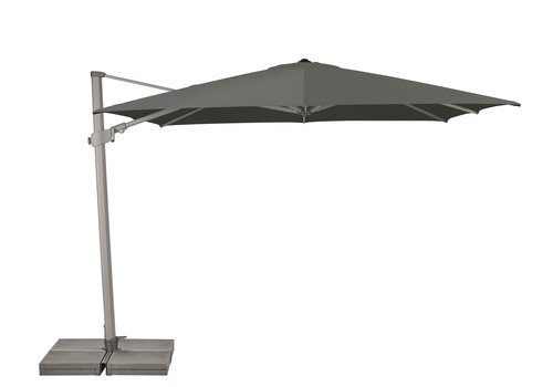 Zweefparasol - VarioFlex  - 300x300 cm - Grijs - SunComfort by Glatz