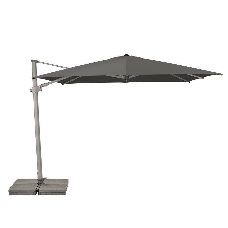 Zweefparasol - VarioFlex  - 300x300 cm - Grijs - SunComfort by Glatz-1