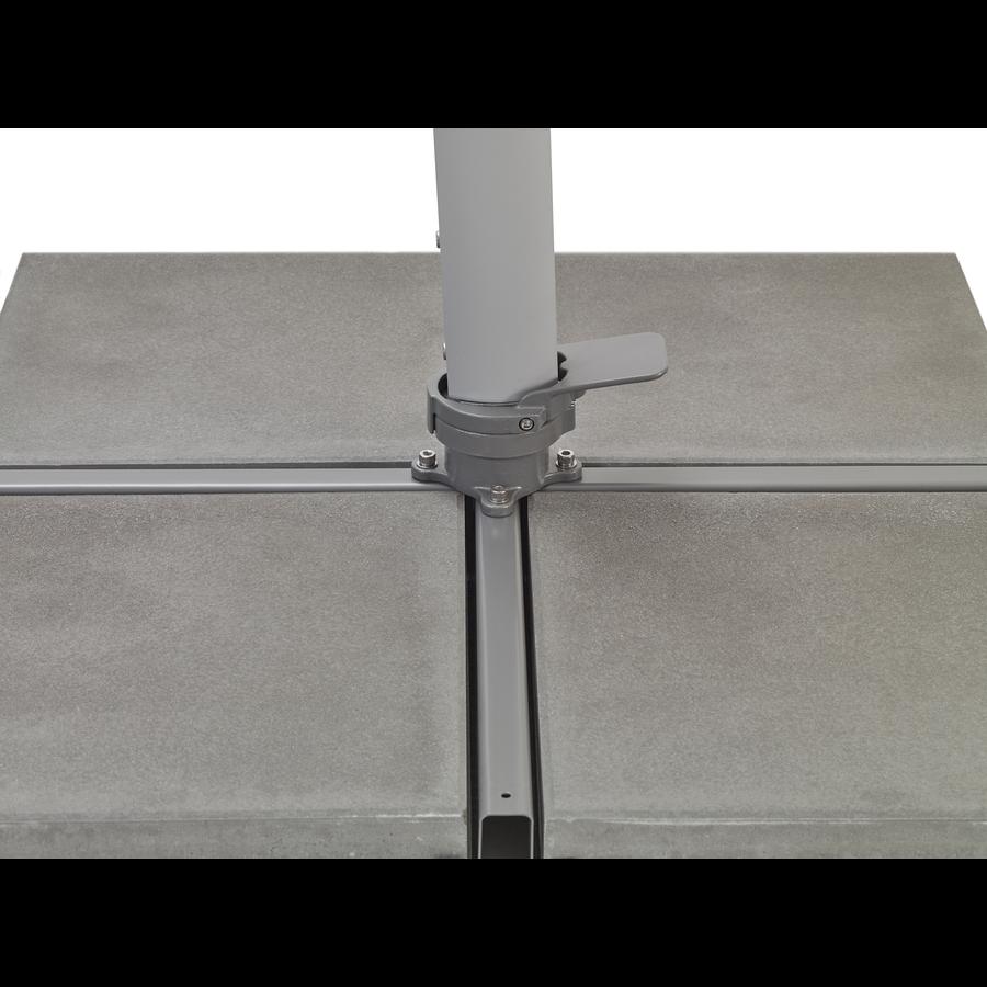 Zweefparasol - VarioFlex  - 300x300 cm - Grijs - SunComfort by Glatz-3