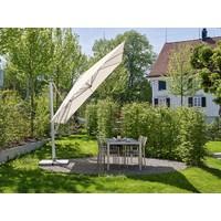 thumb-Zweefparasol - VarioFlex  - 300x300 cm - Grijs - SunComfort by Glatz-6