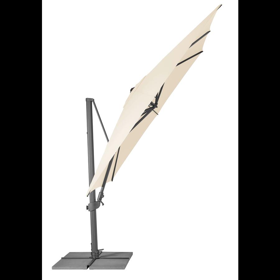 Zweefparasol - VarioFlex - 300x300 cm - Ecru - SunComfort by Glatz-3