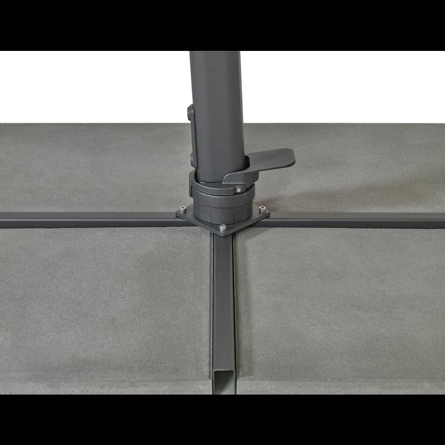 Zweefparasol - VarioFlex - 300x300 cm - Ecru - SunComfort by Glatz-10