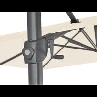thumb-Zweefparasol - VarioFlex - 300x300 cm - Ecru - SunComfort by Glatz-8