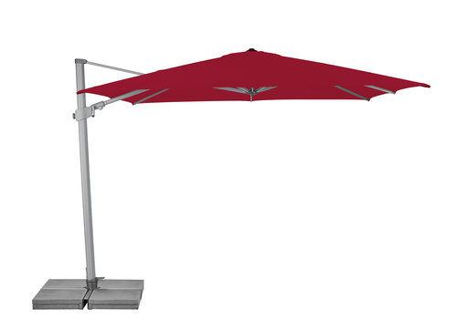 Zweefparasol - VarioFlex  - 300x300 cm - Rood - SunComfort by Glatz