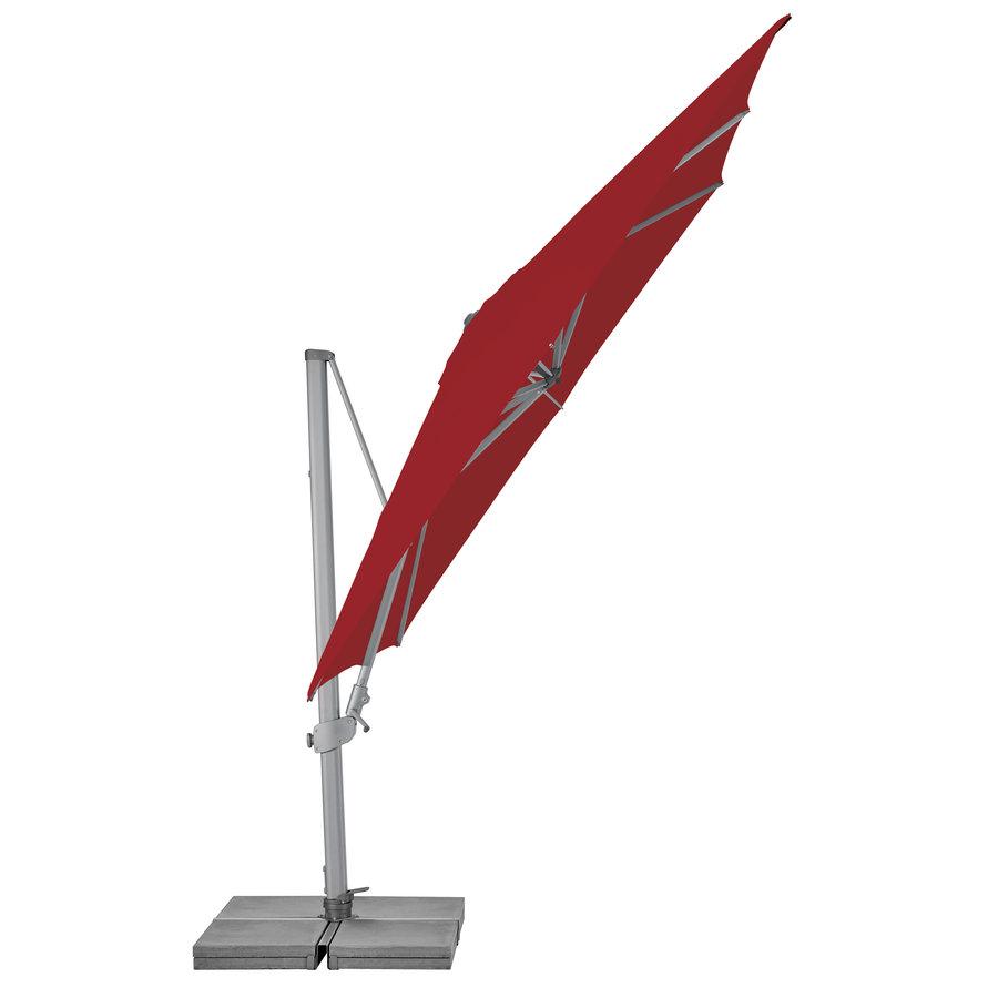Zweefparasol - VarioFlex  - 300x300 cm - Rood - SunComfort by Glatz-2