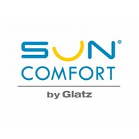 thumb-Zweefparasol - VarioFlex  - 300x300 cm - Rood - SunComfort by Glatz-9