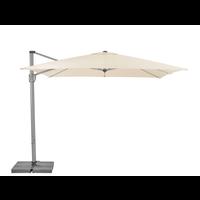Zweefparasol - SunFlex - 300x300 cm - Ecru - SunComfort by Glatz