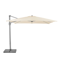 thumb-Zweefparasol - SunFlex - 300x300 cm - Ecru - SunComfort by Glatz-1